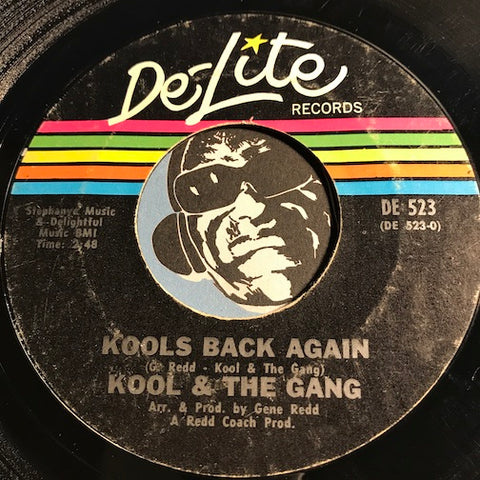 Kool & The Gang - Kools Back Again b/w The Gangs Back Again - Delite #523 - Funk