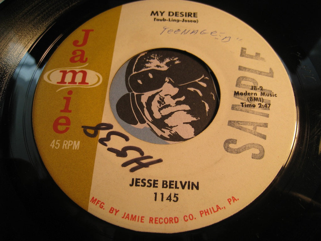 Jesse Belvin - My Desire b/w Goodnight My Love (Pleasant Dreams) - Jamie #1145 - Doowop