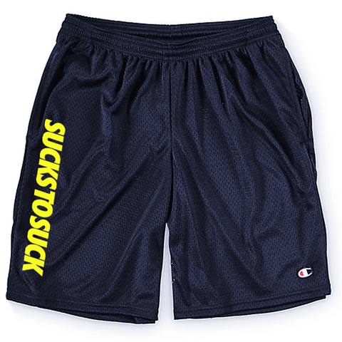 Motto Mesh Basketball Shorts
