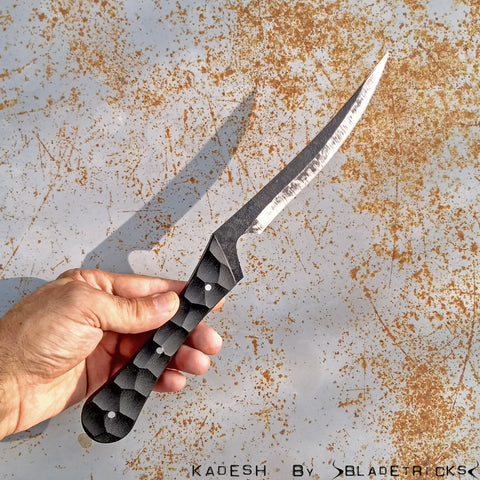 BLADETRICKS KADESH CUSTOM KNIFE, G10 VERSION