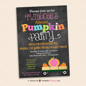 Favorite Fall Party Invitations