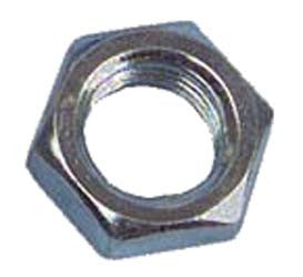 1011084 1/4-28 Hex Jam Nut (20) Club Car