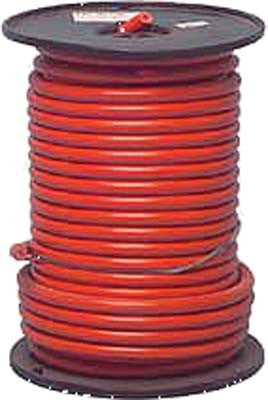 14490-G1 Red Battery Cable 100' Spool 6 Gauge - Ezgo Electric