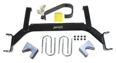"Jake's 6"" axle lift kit. For E-Z-GO gas 2009-up TXT"