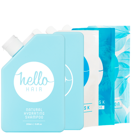 Hello Hair 'Hydrate Your Hair' Pack | BEST SELLER