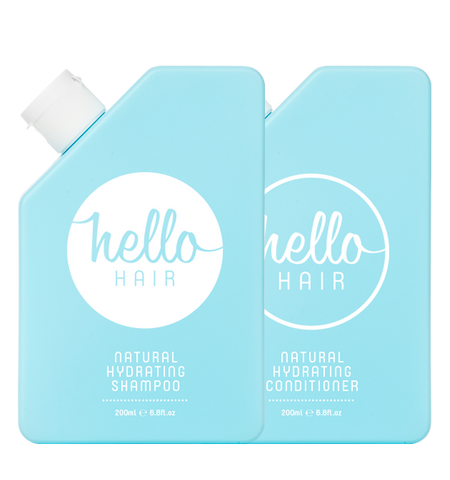 Hello Hair Hydrating Shampoo + Conditioner Duo | BEST SELLER