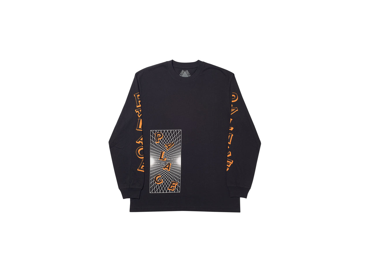 GRIDDLE LONGSLEEVE BLACK