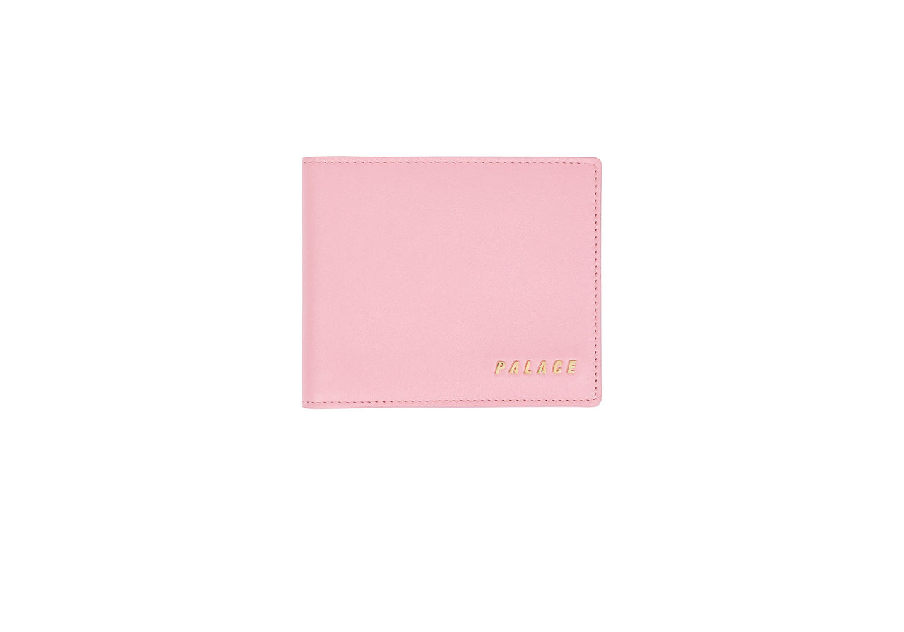 LEATHER BILLFOLD WALLET PINK
