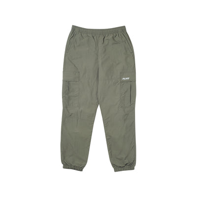 SHELL CARGO PANTS OLIVE