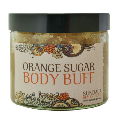 Sundala Health Orange Sugar Body Buff 250g