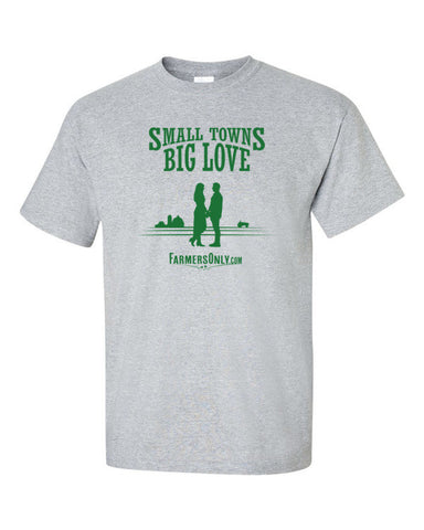Small Towns, Big Love- Men's T-Shirts