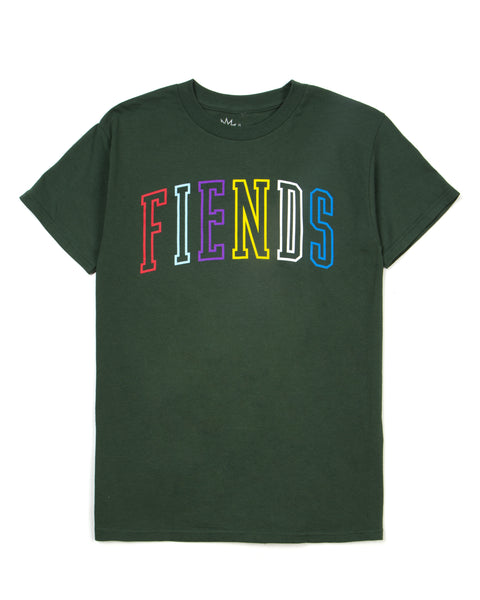 THE GREEN NEIGHBORHOOD FIENDS TEE