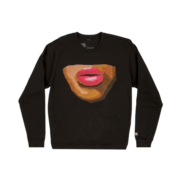 THE LIPS CREWNECK