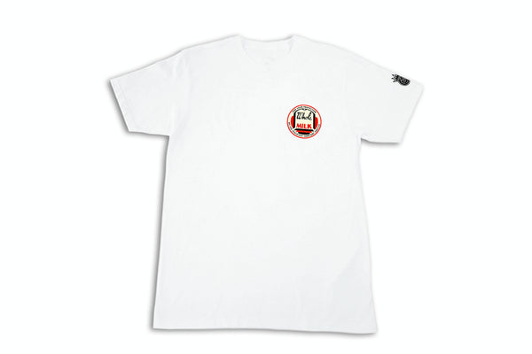 THE WHITE RED TOP WHOLE MILK TEE