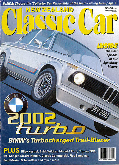 New Zealand Classic Car 103, July 1999