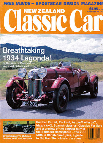New Zealand Classic Car 63, March 1996