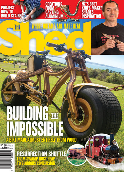 The Shed 84, May — June 2019