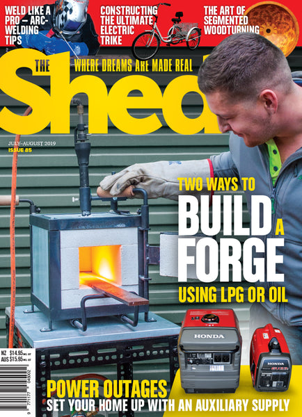 The Shed 85, July — August 2019