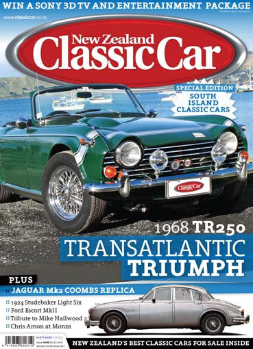 New Zealand Classic Car 249, September 2011