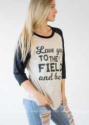 Love you to the Field & Back Baseball Top, WHAT'S NEW, GRAPHICS, badhabitboutique