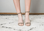 Rock you look in these leopard heels by Qupid.