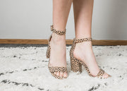 Check out these leopard heels by Qupid.