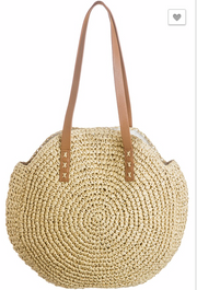 Roam Together Round Bamboo Bag