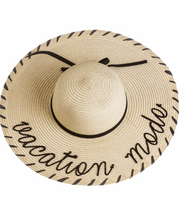 Vacation Mode Sun Hat. The perfect summer beach hat