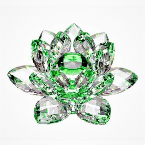 Beautiful Green Crystal Rose of Hope for LINKS, New 2019