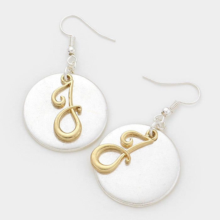 Beautiful JNJ Earrings
