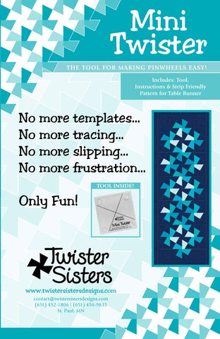 Mini Twister Pattern and Template