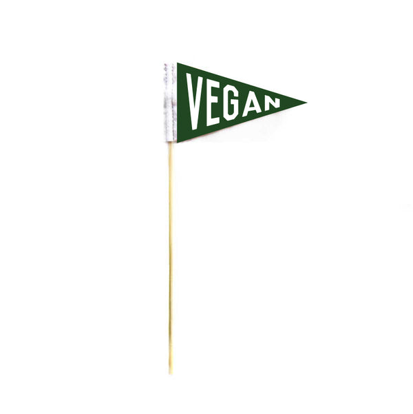 VEGAN MICRO MINI PENNANT