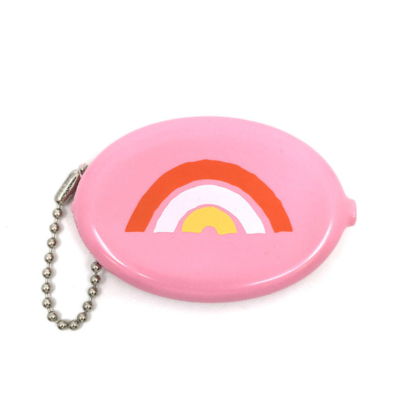 Coin Pouch - Rainbow (Pink)