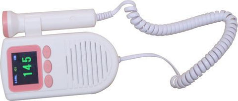 NISCOMED ULTRASONIC FETAL DOPPLER WITH COLOUR DISPLAY ND 105 - Scorpiamedimart
