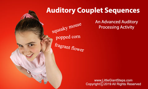 Auditory Couplets Cards