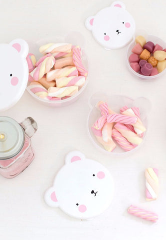 Snack Box Bear Pink