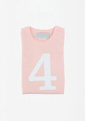 Marshmallow Skinny Number T-Shirt