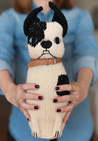 Hand Knitted Dog