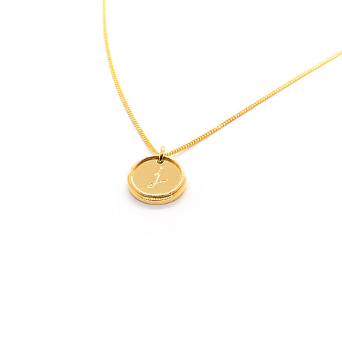 Precious Initial Necklace