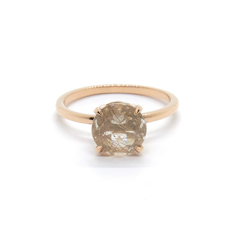 Precious Rutilated Quartz ring