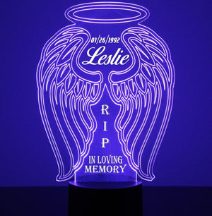 Angel Wings LED Night Light