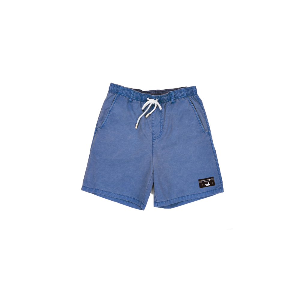 Boys Southern Marsh Youth Seawash Shoals Swim Trunks in Washed Blue - Brother's on the Boulevard
