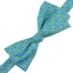 Mens Pelican Coast Margarita Bowtie in Blue - Brother's on the Boulevard