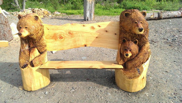 3 Bears Bench by Jordan Anderson