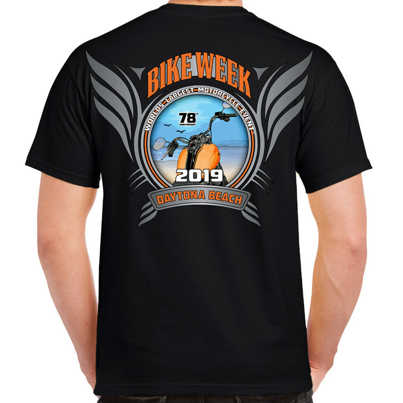 2019 Bike Week Daytona Beach Official Logo T-Shirt
