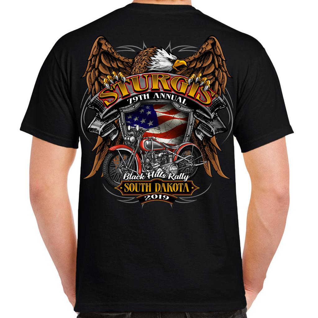 2019 Sturgis Black Hills Rally Rebel Rider T-Shirt