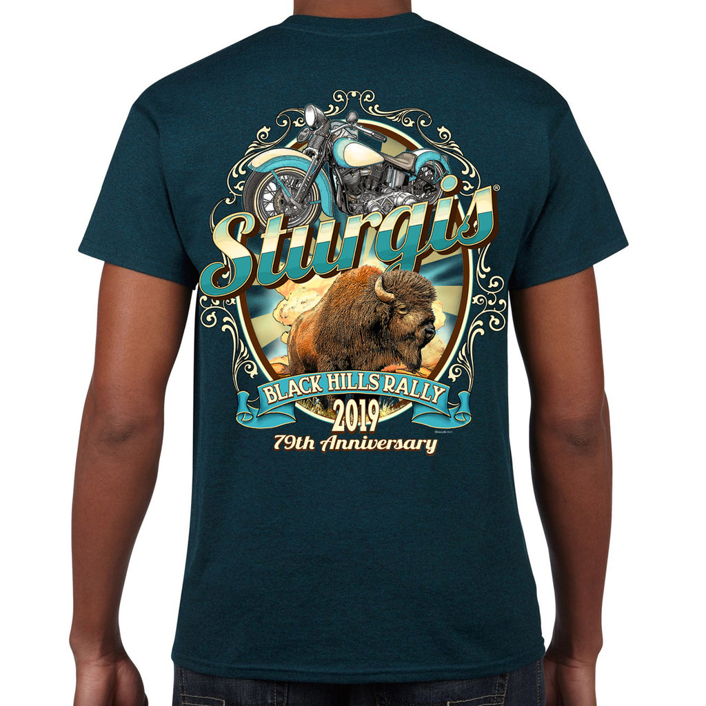 2019 Sturgis Black Hills Rally Buff My Low T-Shirt