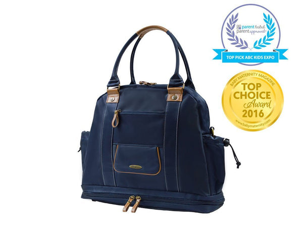 SAIL AWAY SATCHEL ANCHOR GREY