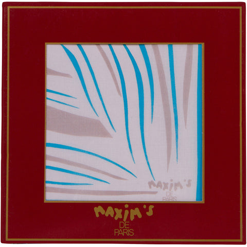 Maxim's de Paris - Cotton Pocket Square - 3333