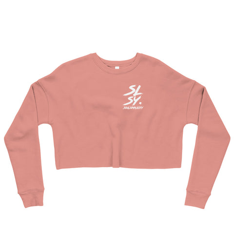SLSY Long sleeve Crop Sweater
